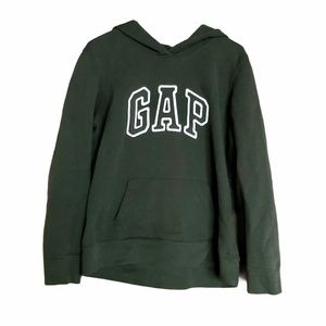 3/$20 GAP Spell Out Green Hoodie Sz L